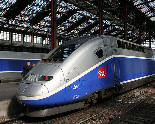 TGV Rail Train Paris Loire Valley Accommodation France Disneyland